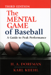 The Mental Game of Baseball Book Cover Dorfman
